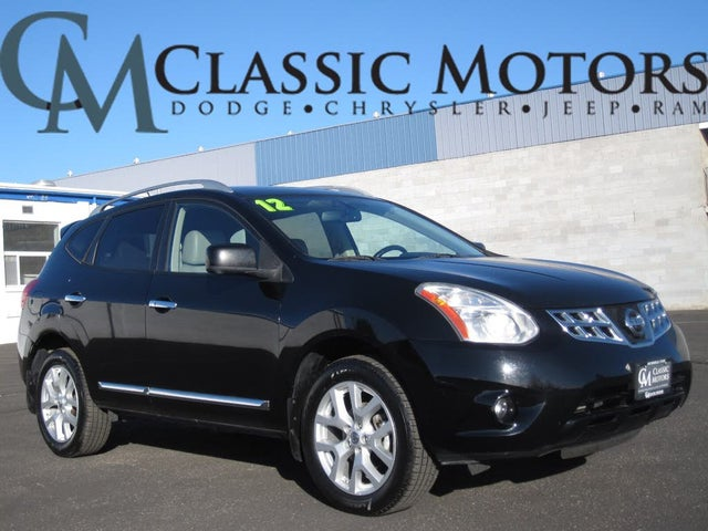 2012 Nissan Rogue SV with SL AWD