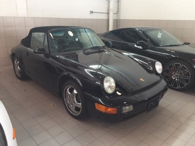 1991 Porsche 911 Carrera Convertible