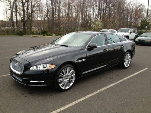 2012 Jaguar XJ-Series XJL Supercharged RWD