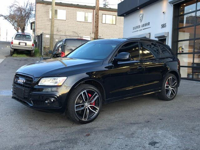 2017 Audi SQ5 3.0T quattro Dynamic Edition AWD