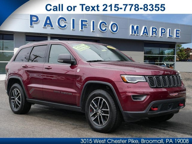 2018 jeep cherokee trailhawk for sale near me
