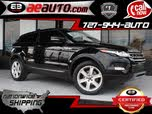 2013 Land Rover Range Rover Evoque Pure Plus Coupe