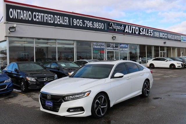 2018 Honda Accord 2.0T Touring FWD