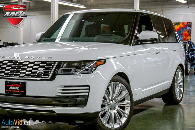 2019 Land Rover Range Rover Td6 HSE 4WD