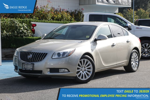 2013 Buick Regal Turbo Sedan FWD