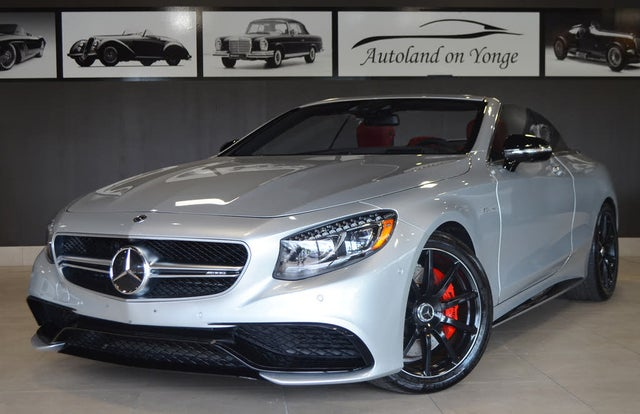 2017 Mercedes-Benz S-Class Coupe S 63 AMG 4MATIC Cabriolet