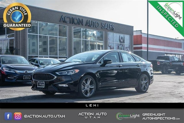 2017 Ford Fusion Sport AWD