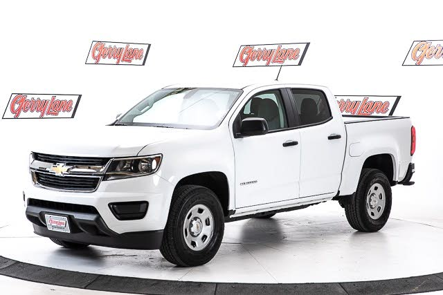 2020 Chevrolet Colorado Work Truck Crew Cab RWD