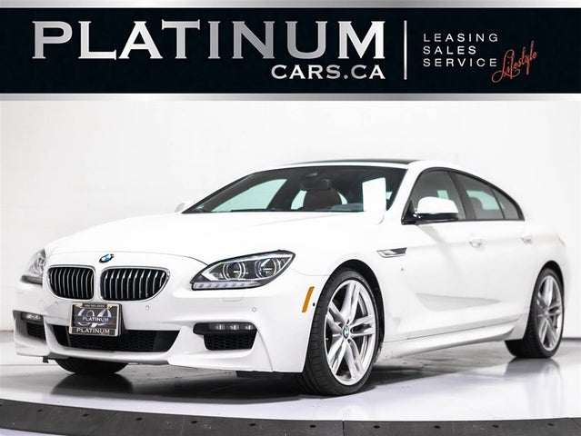2015 BMW 6 Series 640i xDrive Gran Coupe AWD