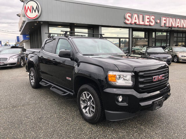 2018 GMC Canyon All Terrain Crew Cab 4WD with Leather