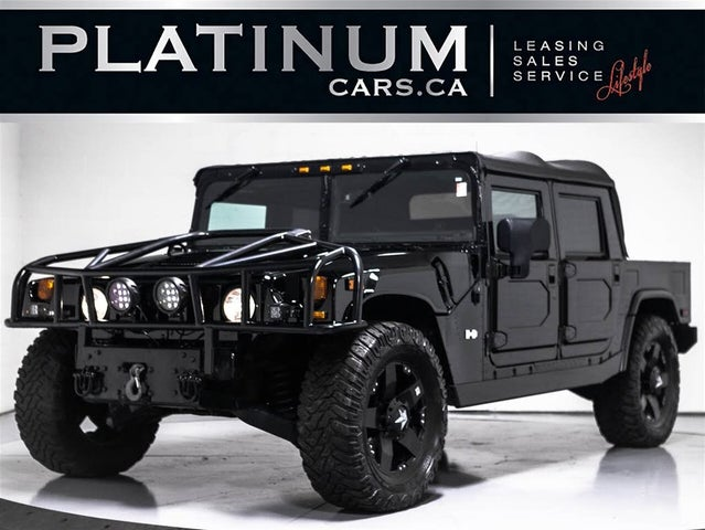 2004 Hummer H1 4 Dr STD Turbodiesel 4WD Convertible