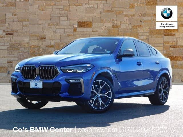 Used 2020 BMW X6 M50i AWD for Sale (with Photos) - CarGurus