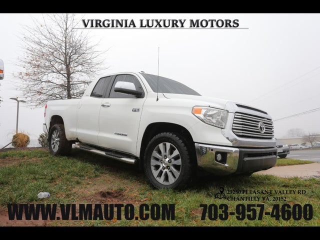 2016 Toyota Tundra Limited Double Cab 5.7L