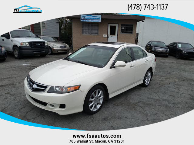 2008 Acura TSX Sedan FWD with Navigation