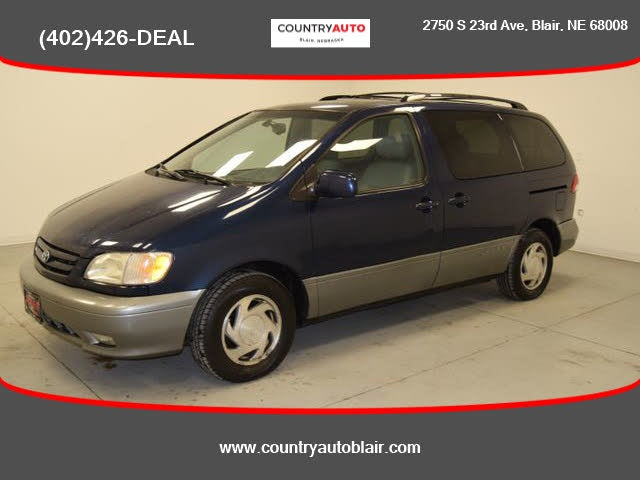 used 2003 toyota sienna xle for sale right now cargurus xle