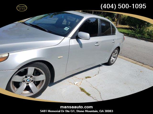2006 BMW 5 Series 525i Sedan RWD
