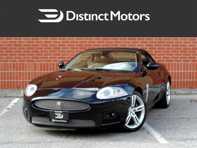 2007 Jaguar XK-Series XKR Convertible RWD