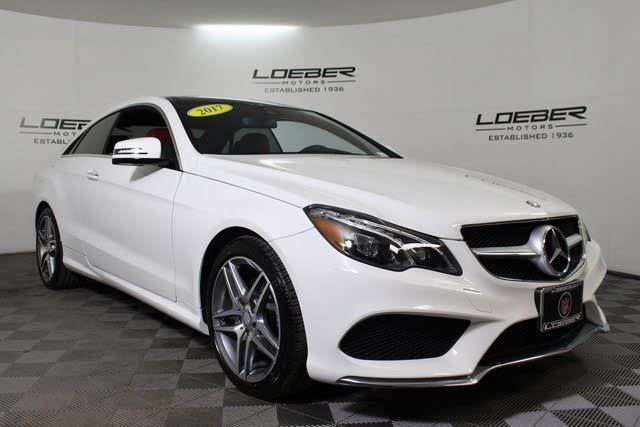 Used 2017 Mercedes-Benz E-Class E 400 Coupe 4MATIC for ...
