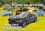2016 Ford Mustang EcoBoost Premium Convertible RWD
