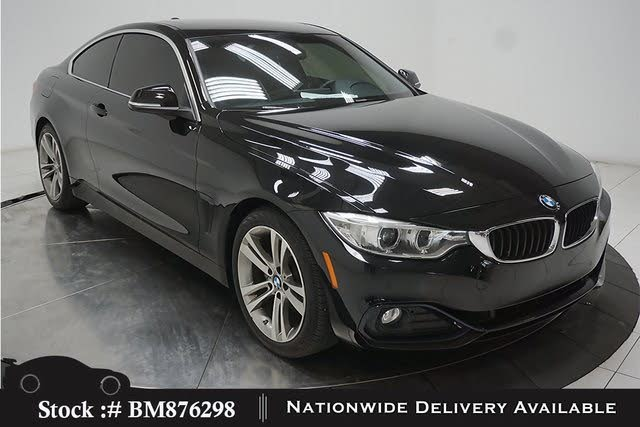 2017 BMW 4 Series 430i Coupe RWD