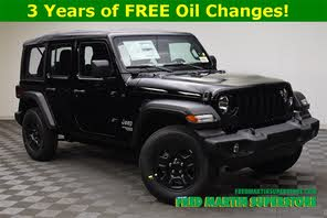 Jeep Dealers Cleveland >> 2020 Jeep Wrangler Unlimited Sport 4wd