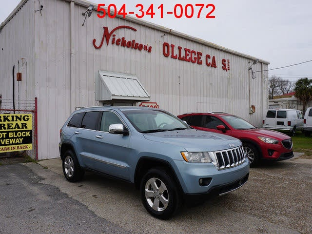 Used 2012 Jeep Grand Cherokee Overland for Sale (with ...