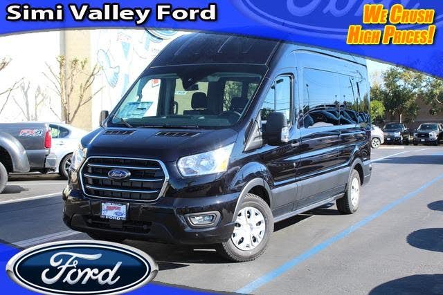 2020 Ford Transit Passenger 350 XLT High Roof LWB RWD with Sliding Passenger-Side Door