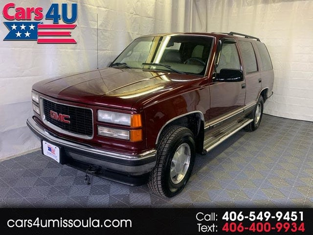 used 1998 gmc yukon sle 4wd for sale right now cargurus sle 4wd