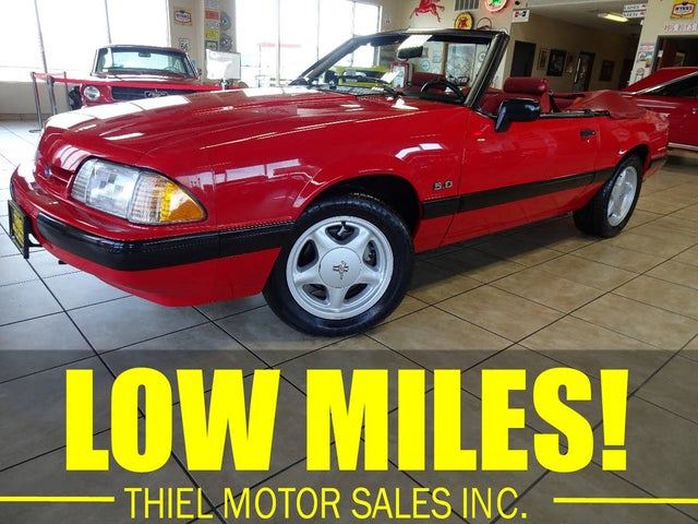 1991 Ford Mustang LX 5.0 Convertible RWD