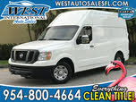 2014 Nissan NV Cargo 3500 HD SV w/ High Roof