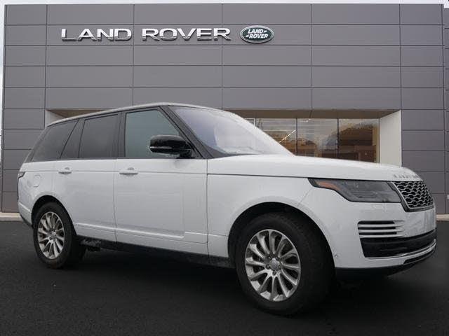 2019 Land Rover Range Rover V6 HSE 4WD