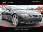 2007 BMW 6 Series 650i Coupe RWD