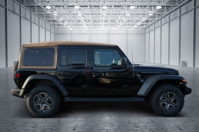 2020 Jeep Wrangler Unlimited Black and Tan 4WD