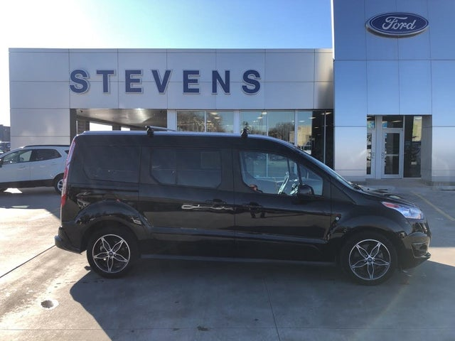 2018 Ford Transit Connect Wagon Titanium LWB FWD with Rear Liftgate