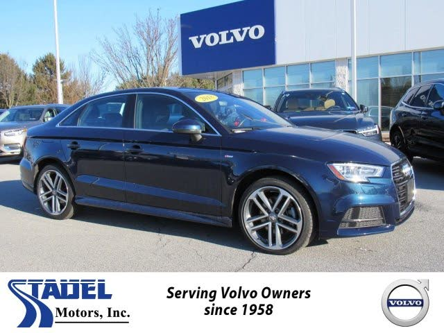 2018 Audi A3 2.0T quattro Premium Plus Sedan AWD
