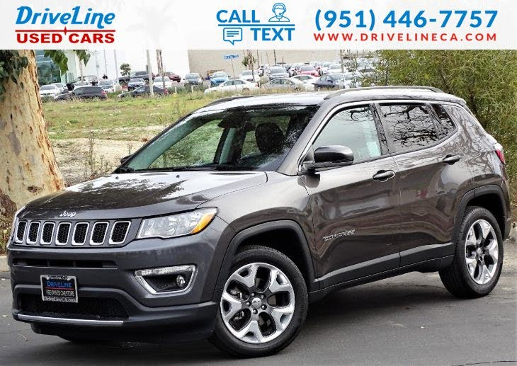 Used 2018 Jeep Compass Limited Fwd For Sale With Photos Cargurus
