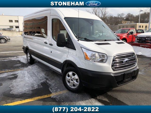 2019 Ford Transit Passenger 350 XLT LWB RWD with Sliding Passenger-Side Door