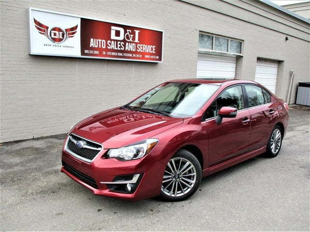 2016 Subaru Impreza 2.0i Limited Sedan AWD