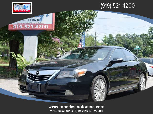 2011 Acura RL SH-AWD with Advance Package