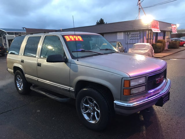 used 1998 gmc yukon for sale right now cargurus used 1998 gmc yukon for sale right now
