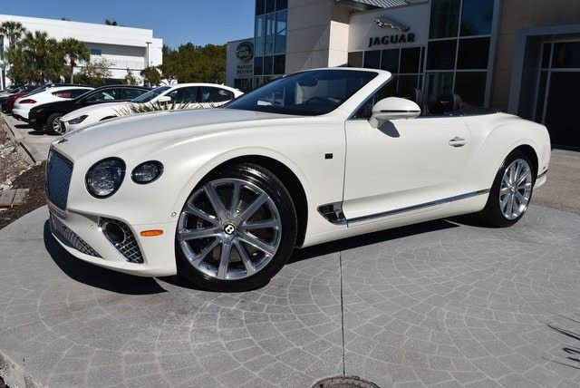 2020 Bentley Continental GT First Edition Convertible AWD