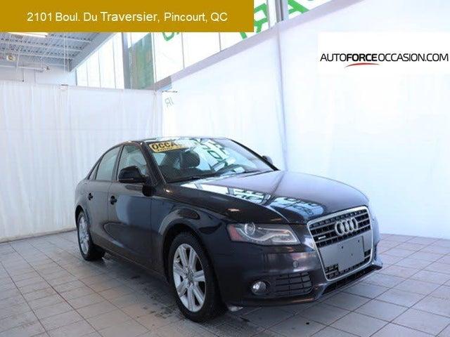 2009 Audi A4 2.0T quattro Premium Sedan AWD