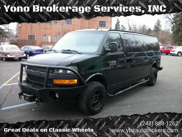 2012 Chevrolet Express 3500 2LT Extended RWD