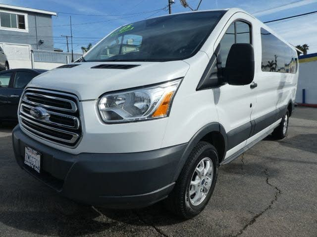 2015 Ford Transit Passenger 350 XLT Low Roof LWB RWD with Sliding Passenger-Side Door