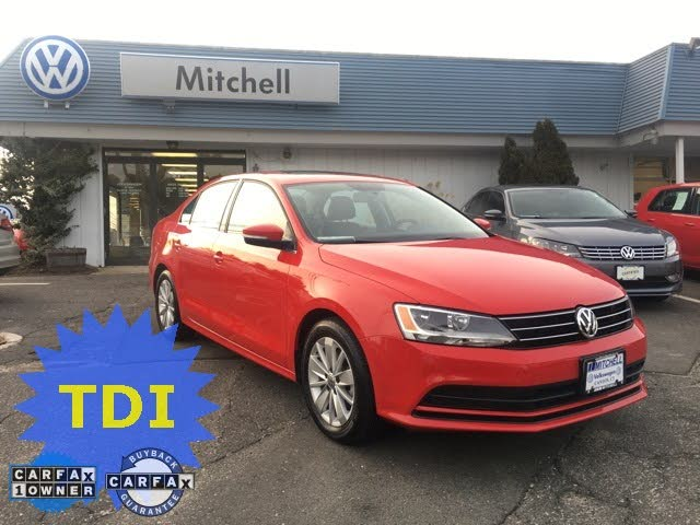 2015 Volkswagen Jetta TDI SE with Connectivity