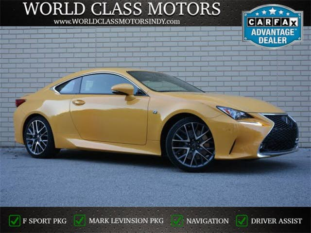 2018 Lexus F Sport Coupe For Sale