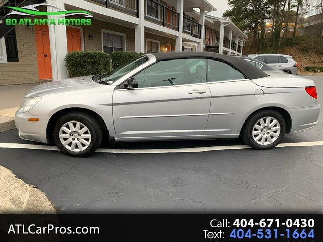 Used 2008 Chrysler Sebring Lx Convertible Fwd For Sale With