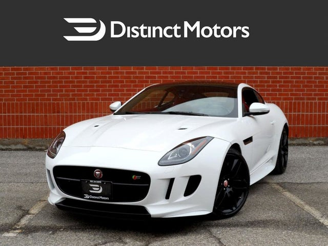 2016 Jaguar F-TYPE S Coupe AWD