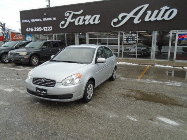 2010 Hyundai Accent GLS Sedan FWD