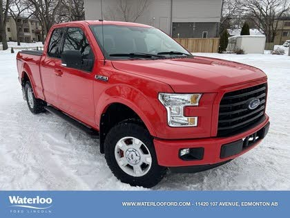 2016 Ford F-150 XLT SuperCab LB 4WD